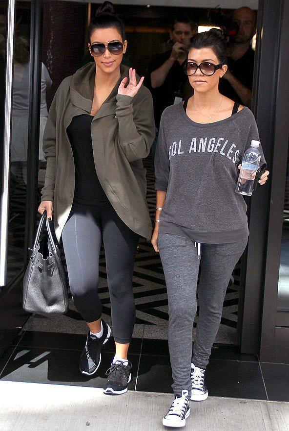 Kim ve Kourtney Kardashian - Kardiyo ve dans