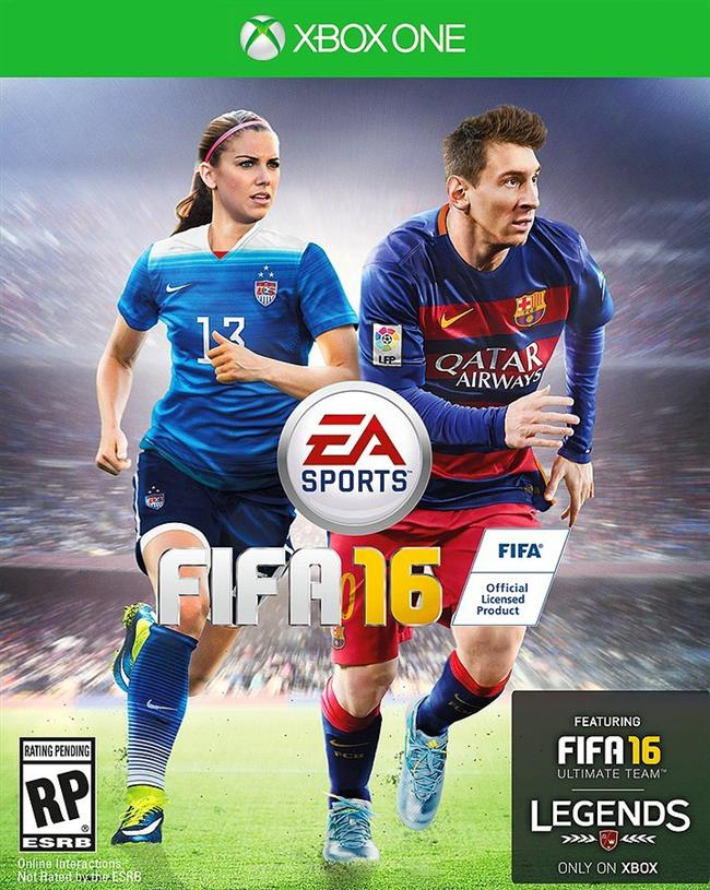 Öyle ki FIFA 16'da ilk kez Kadınlar Dünya Kupası da yer alıyor ve oyunun kapağında Alex de bulunuyor.