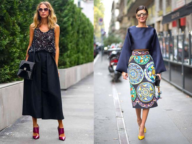 Uzun etek giymeyi tercih ettiğiniz zamanlarda kullanmanız gereken ayakkabı mutlaka topuklu olmalıdır.
