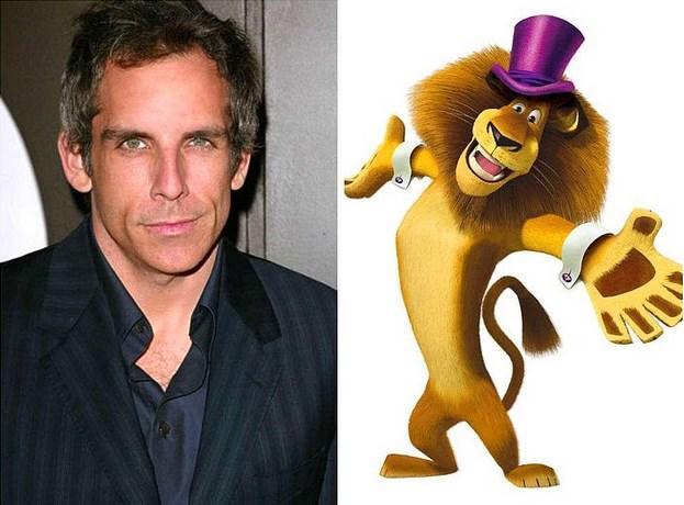 "Ben Stiller - Lion ""Madagascar"""