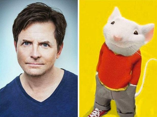 "Michael J. Fox - ""Stuart Little"""