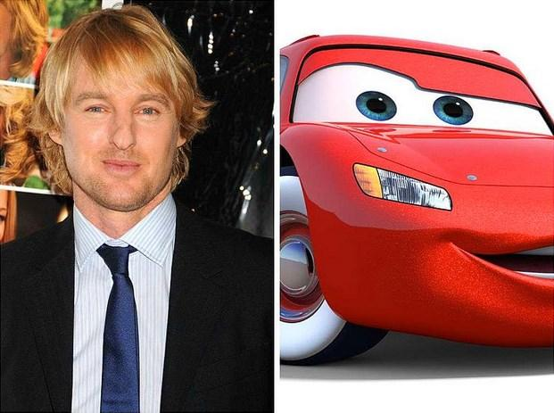 """Owen Wilson - Şimşek McQueen """"Arabalar"""""""