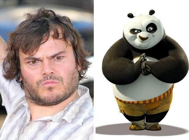 "Jack Black - Po ""Kung Fu Panda"""