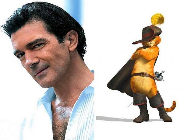 """Antonio Banderas - Çizmeli Kedi """"Shrek"""""""