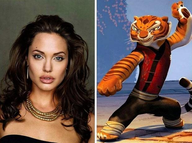 "Angelina Jolie - Tigress ""Kung Fu Panda"""