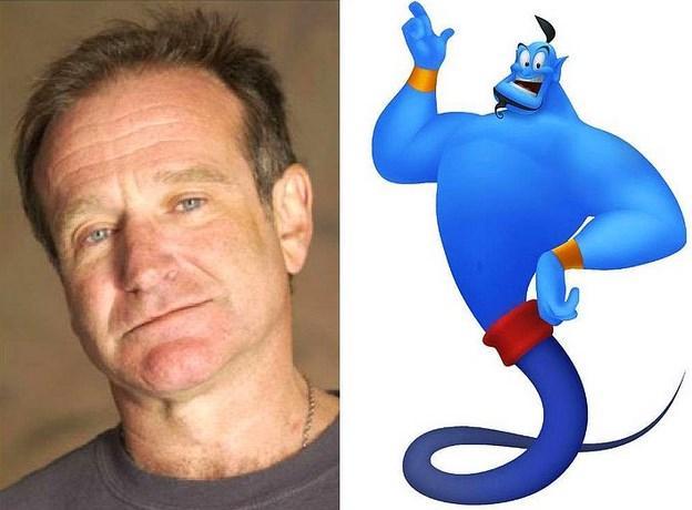 "Robin Williams - Cin ""Aladdinin Sihirli Lambası"""