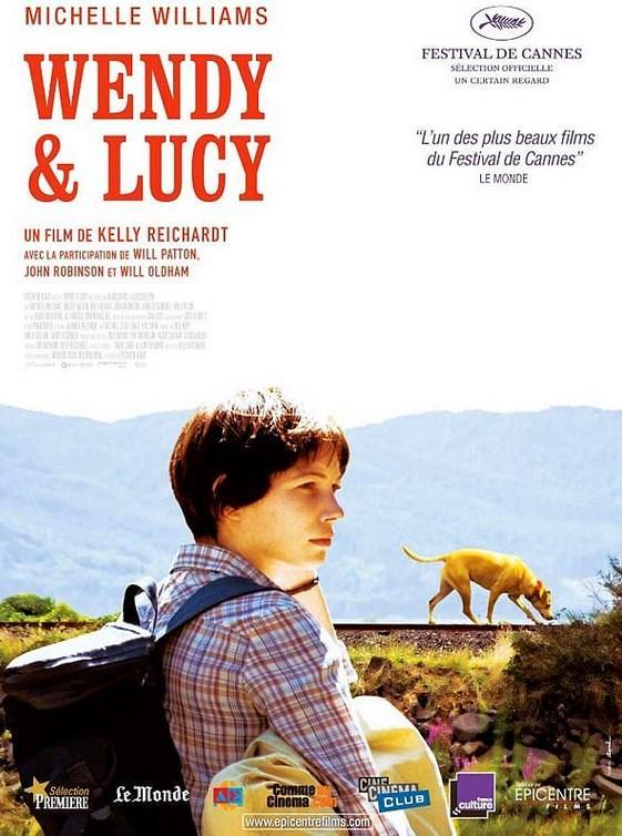 Wendy and Lucy  Yönetmen: Kelly Reichardt  IMDb: 7.4  Ekonomik durumu iyi olmayan Wendy Carroll, doğru düzgün para kazanabilmek için köpeği Lucy ile birlikte Alaska'daki bir balık fabrikasında çalışmak üzere yola çıkar. Ancak Oregon'da arabası bozulunca bir de üstüne köpeği Lucy'i de kaybedince içinde bulunduğu zor durum onu önemli kararlar almak zorunda bırakacaktır.