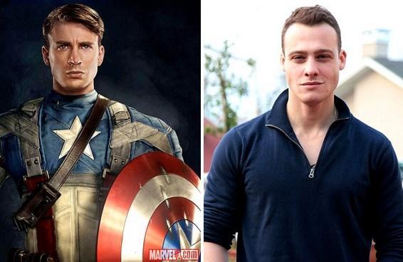 Kaptan Amerika (Steve Rogers) / Kerem Bursin