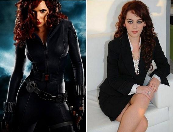 Black Widow(Natasha Nomaroff) / Demet Evgar