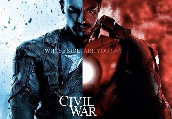 """Kaptan Amerika: İç Savaş  """"Kaptan Amerika: İç Savaş"""" (Captain America: Civil War) da gelecek yıl gösterime girecek diğer bir bilim kurgu filmi.  Marvel çizgi roman serisinden uyarlanan filmin başrollerinde Chris Evans ve Robert Downey Jr. yer alıyor. Ultron'daki olaylar sonrasında dünya hükumetleri kolektif olarak tüm süper insan aktivitesini denetleyecek bir yasa geçirmeye karar verirler. Bu, """"yenilmezler"""" içerisinde görüş ayrılıklarına sebep olur ve """"yenilmezler"""" Iron Man ve Kaptan Amerika  altında iki fraksiyona bölünür. Eski müttefiklerin epik bir mücadeleye girmesini anlatan filmin yönetmenliğini Anthony Russo ve Joe Russo yapıyor."""