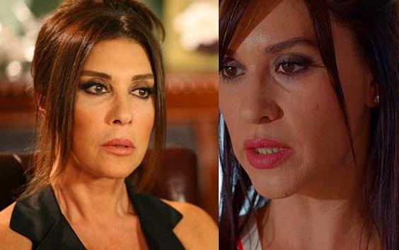 Hangi ünlü kadınlar birbirine benziyor? İşte birbirine adeta kız kardeşmiş gibi benzeyen 50 ünlü Türk kadını...  Nebahat Çehre & Evrim Alasya  Kaynak Fotoğraflar: Google Ücretsiz