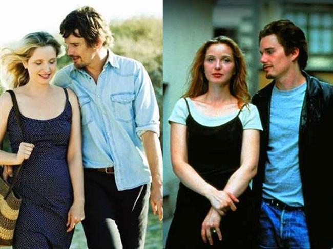 Aradan 18 yıl geçse de bu film onları yeniden bir araya getirmişti. Gün Doğmadan ve Geceyarısından Önce'nin oyuncuları Julie Delpy ve Ethan Hawke