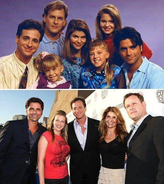 Full House(Bizim Ev) oyuncuları da yıllar sonra yeniden bir aradalar.
