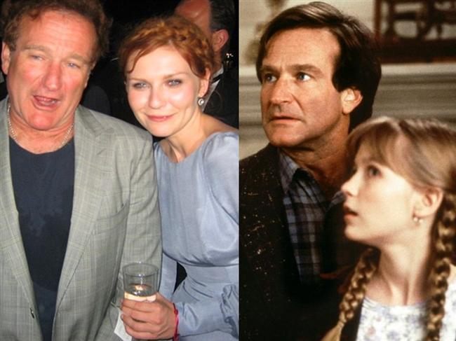 Jumanji'nin yıldızları Robin Williams ve Kirsten Dunst yaklaşık yirmi yıl sonra birlikteler.