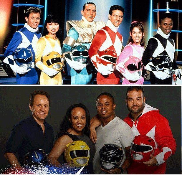 Power Rangers'ın 'sarı ranger'ında belli ki oyuncu değişikliği olmuş, gönül isterdi ki beyaz ve pembe ranger da aralarında olsun.