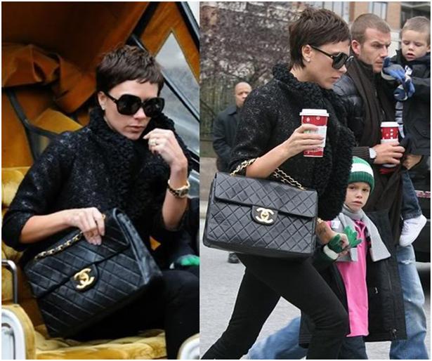 Hollywood yıldızları, kırmızı halıdaki şıklığa paralel, sokak stillerinde de ne giyerlerse giysinler lüks marka çantalarıyla çabasız şıklığı yakabiliyorlar.   Stilleriyle ilham veren ünlülerin tutku haline getirdikleri 7 lüks markayı mercek altına aldık.   1.Chanel  Victoria Beckham
