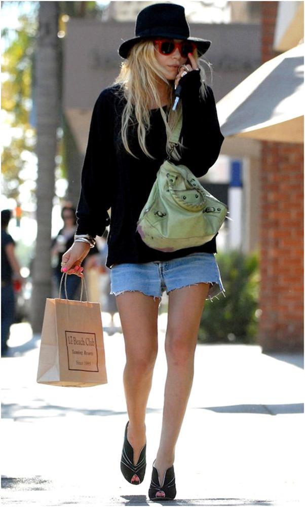 3. Balenciaga  Balenciaga marka çantaların fiyatları 2500 TL' den başlıyor.  Mary-Kate Olsen