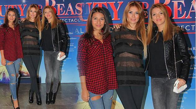 Tuğba Altıntop ile kızları Su ve Şevval