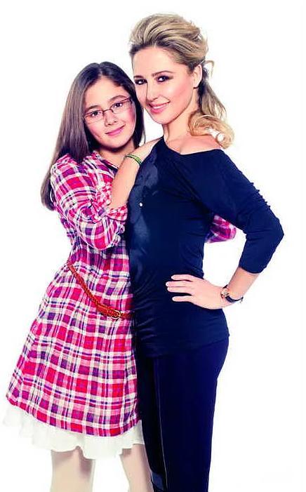 Pınar Aylin ve kızı Maya