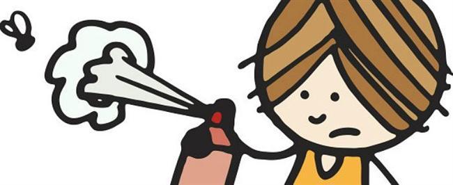 Bilumum haşerata karşı elinizi güçlendirin!  Evinizin içinde slalomlar yapmak suretiyle fink atan cümle haşerattan saç spreyi marifetiyle kurtulabilirsiniz.