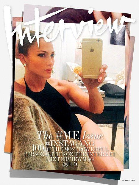Ünlülerin Selfie Çılgınlığı Dergi Kapağı Oldu - 1