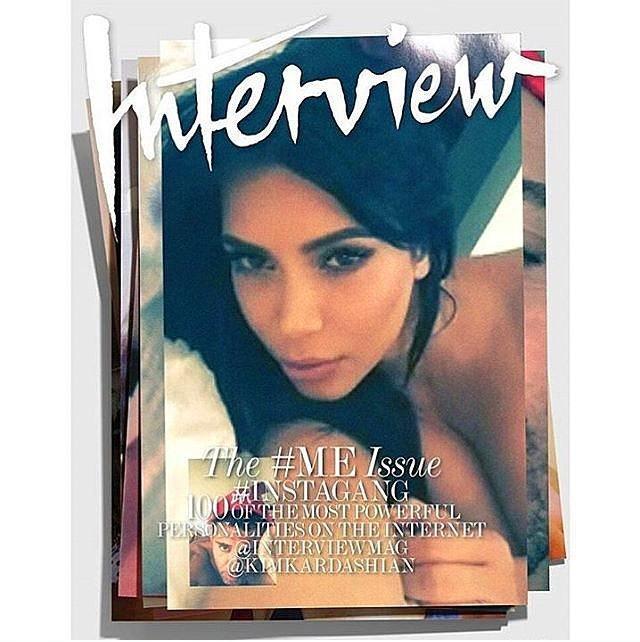 İnternet ve selfie teması Kim Kardashian'sız olur mu?