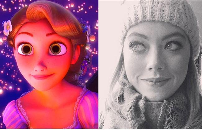 Karmakarışık filminin 'Rapunzel'i / Gözde Kaya