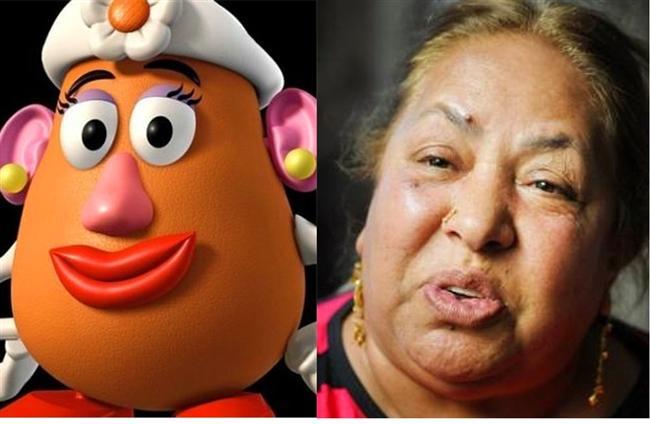 Oyuncak Hikayesi'ndeki Bayan Patates Kafa / Dilberay