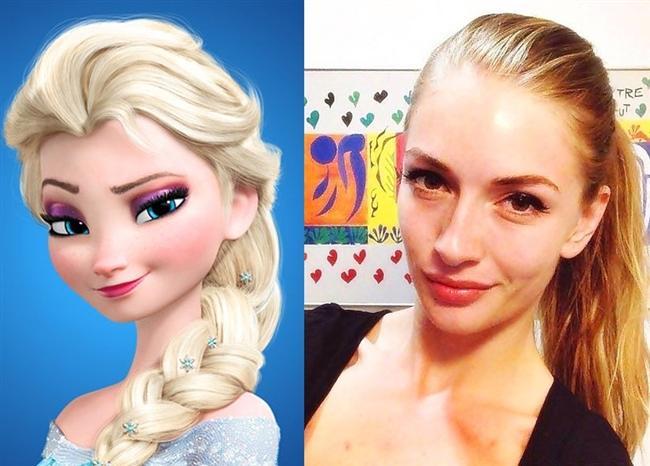 Karlar Ülkesi'nin 'Elsa'sı / Yasemin Allen