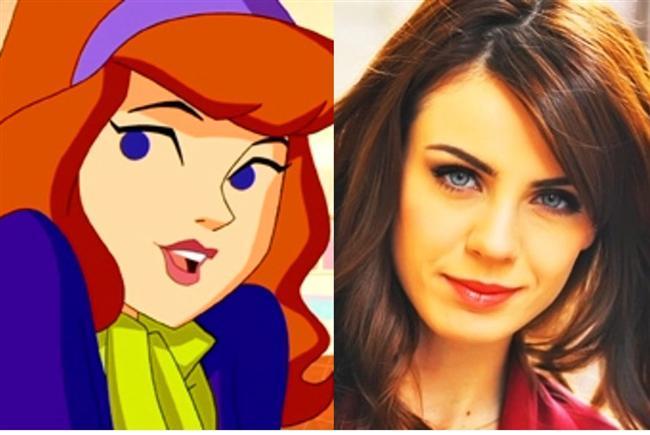 Scooby Doo'nun 'Daphne'si / Başak Parlak