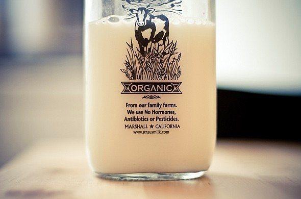 Taze sağılmış organik süt alın.  Sağlık açısından sizin için her türlü daha faydalı olacak organik süt, aynı zamanda uzun süre bozulmayacaktır.