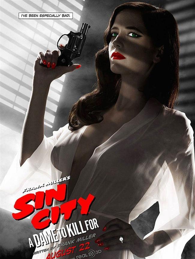 Sin City    Aynı adlı çizgi romadan uyarlanan film, alışıldık çizginin dışında bir film. Polisiye olmasının dışında taşıdığı erotik nüvelerle de yıllardır tartışma konusu olmuş filmler arasında yeri sabit.