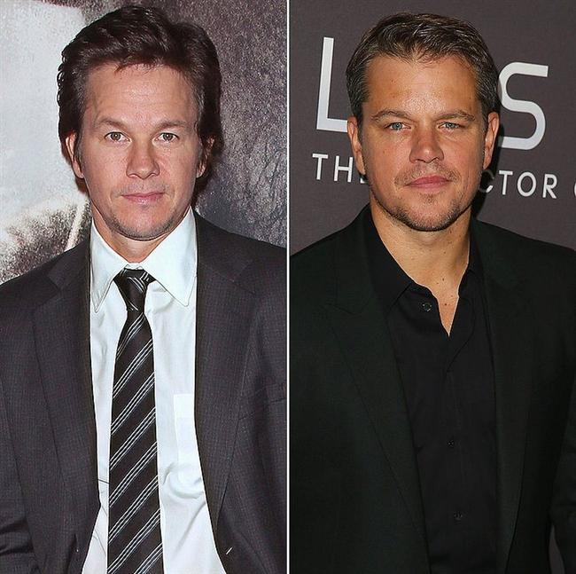 Mark Wahlberg ve Matt Damon