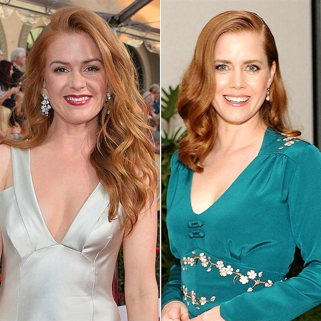 Isla Fisher and Amy Adams Together