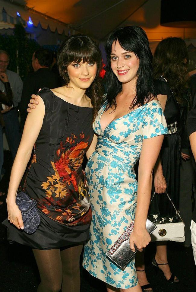 Zooey Deschanel ve Katy Perry