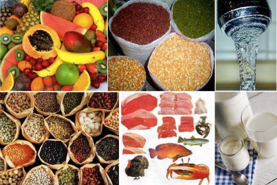 Optimal sağlık için tahıllar, et grubu, süt ürünleri, taze sebze ve meyveler ile sağlıklı yağları bir arada yiyin.