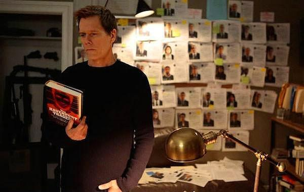 Kevin Bacon, The Following – 175.000$