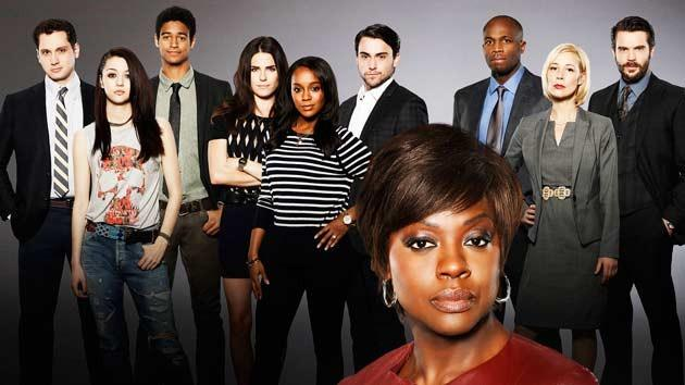 En seksi dizi kadrosu:   How to Get Away With Murder