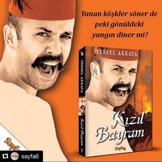Sarp Akkaya  -KIZIL BAYRAM- Aşk bir yanda, entrikalar diğer yanda ortalık tam bir yangın yeri. İyilik ve kötülüğün savaştığı Kızıl Bayram'da Yüksel Akkaya dönemin İstanbul'unu, insanlarını anlatırken okuru adeta o zamana götürüyor. Ana karakterlerden Ali Sait kolay kolay unutulmayacak bir kahraman olarak hafızalarda yer ediniyor. inkilap.com'da ve tüm kitapçılarda...