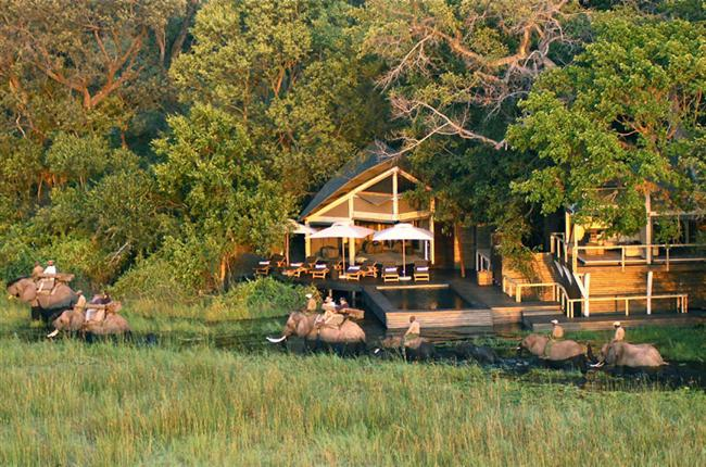 Abu Elephant Villa, Abu Camp (Okavango Deltası, Bostwana)