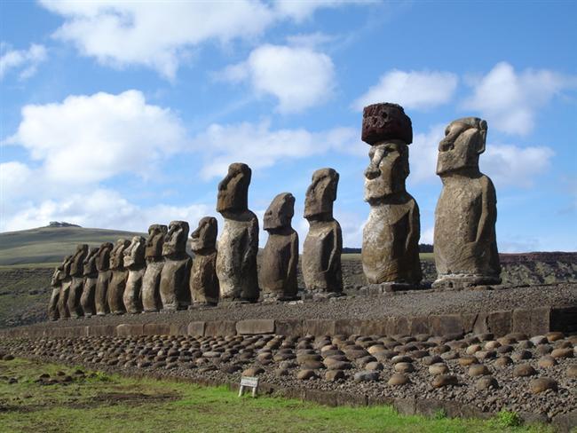 Casas Rapa-nui (Paskalya Adası)