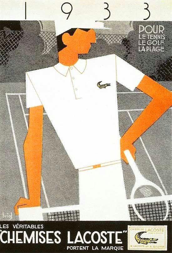 4. Lacoste'un işlemeli timsah logosu, bir tasarımcı tarafından tasarlanan ilk logodur.