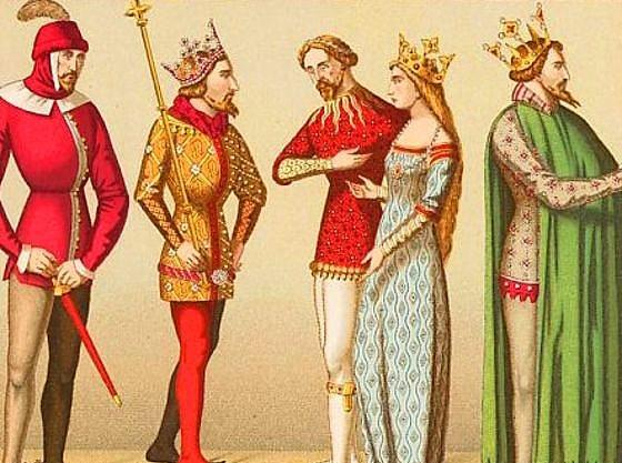 13. Orta Çağ Avrupa'sında insanların sosyal statüleri giydikleri kıyafetin renginden anlaşılırdı.Asiller kırmızı, köylüler kahverengi ve gri ve tüccarlar, bankerler ve üst sınıf insanlar yeşil giyerlerdi.