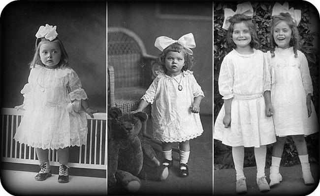 18. Her ne kadar günümüzde çok büyük bir çocuk kıyafeti pazarı mevcut olsa da, 19'uncu yüzyıla kadar çocuklar