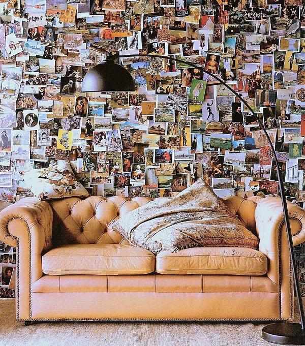 Bütün resimlerini duvarına yapıştır, hele çok gezen biriysen var ya yadından yenmez.