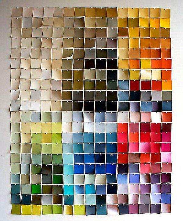 Renkli post-it'leri al... Yaaa