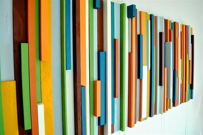 Marangozdan çöp niyetine alacağın tahta parçalarını sanata dönüştürmek istemez misin?