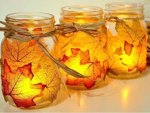 Hazır aydınlatma demişken mumlar sonbahara romantik bir hava katacak.