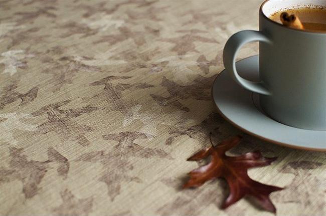 Masa örtülerinizde sonbahar havası.