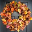 Sonbahar Yapraklarından 15 Dekorasyon Fikri - 4
